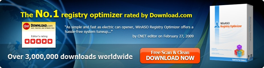 Download WinASO Registry Optimizer