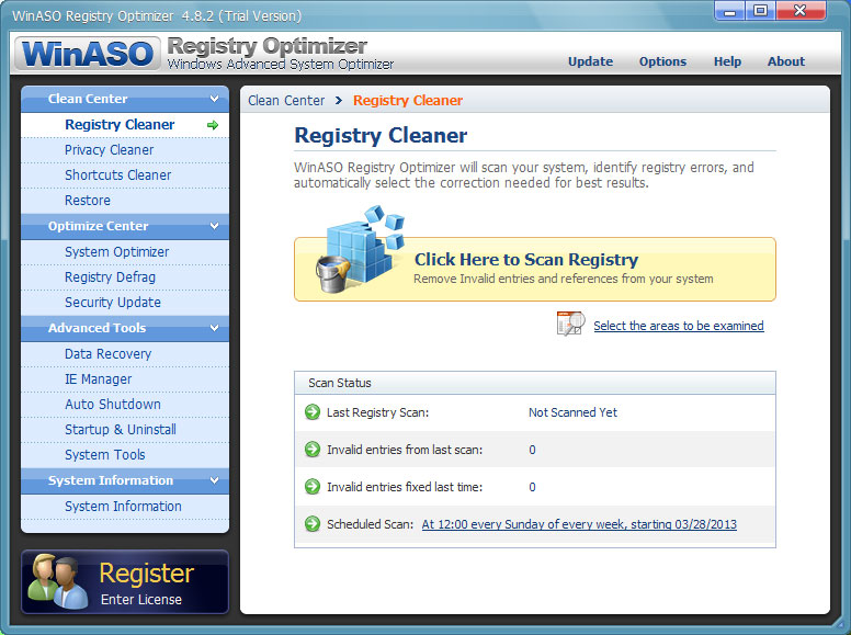 WinASO Registry Optimizer 4.8.6